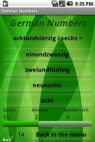 Learn German Numbers- screenshot