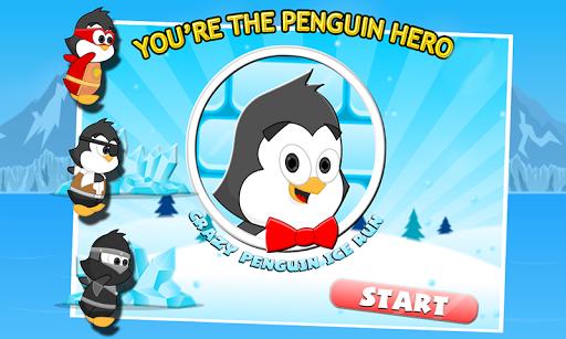Crazy Penguin Ice Run