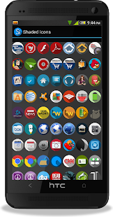 Shaded Icons Screenshot