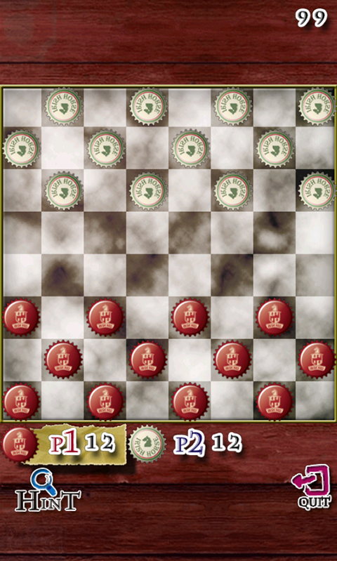 Tiddly Checkers- screenshot