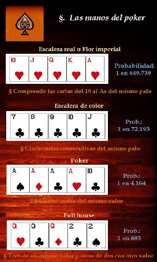 Consejos de Poker Texas Holdem  screenshots 3
