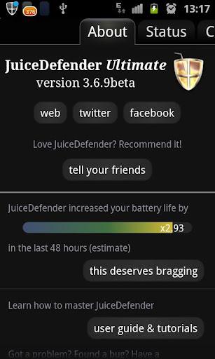 JuiceDefender Ultimate Android İndir