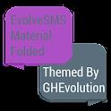 EvolveSMS Folded Purple icon