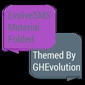 Folded Purple Material
