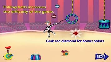 Screenshot of Rope Stunt in Circus