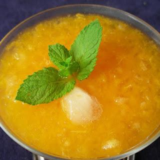 Easy Orange Slush recipe – 153 calories