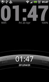 Simple Clock Live Wallpaper 4