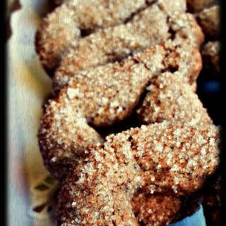 Wine Cookies.