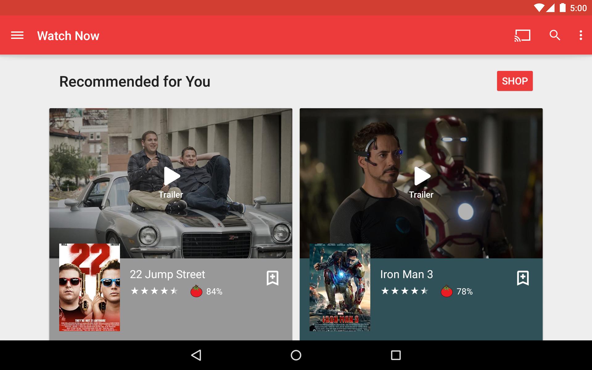 Google Play Movies & TV screenshot #12