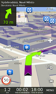 GPS Navigation BE-ON-ROAD - screenshot thumbnail