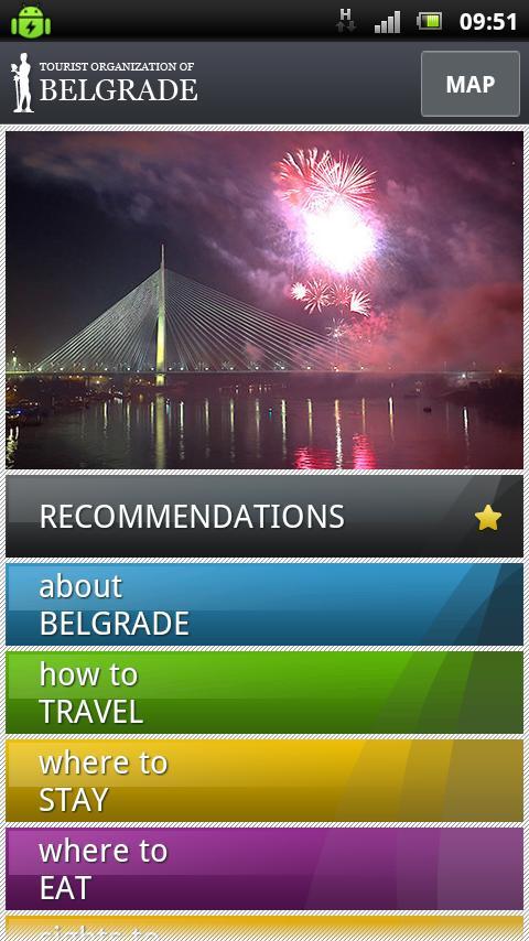 Belgrade City Guide LITE- screenshot