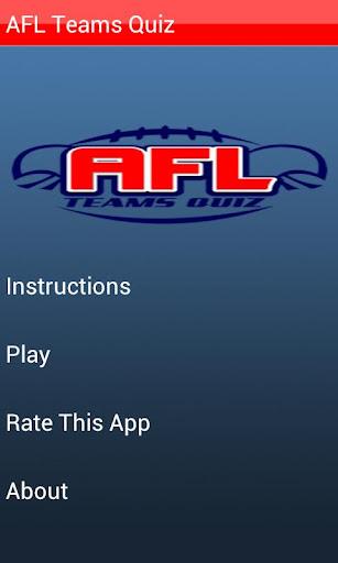 AFL Teams Quiz