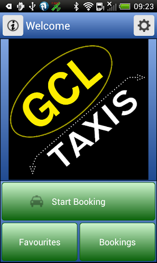 GCL Taxis Mobile App