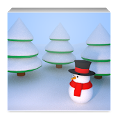 Snowman Gyro3D Wallpaper Full