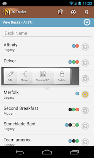 MtG Tracker & Life Counter - screenshot thumbnail
