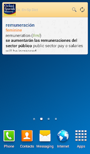 Oxford Spanish Dictionary- screenshot thumbnail