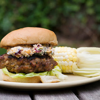Meatloaf Burgers with Grilled Corn.