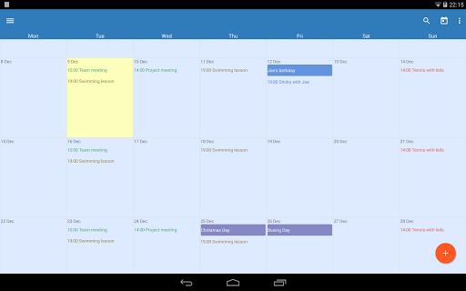 Touch Calendar Free  screenshots 7