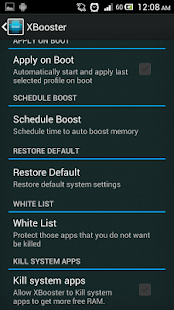 XBooster *ROOT* - Smart app - screenshot thumbnail