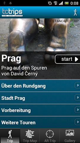 Screenshot 1 TcTrips Prag