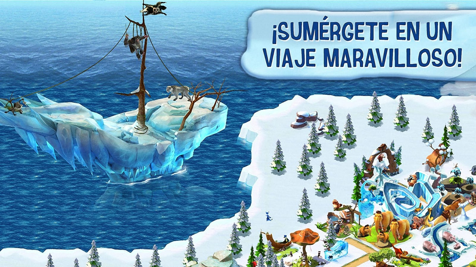 Ice Age Village - screenshot