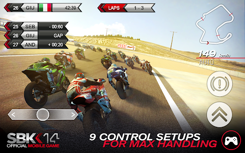 SBK14 Official Mobile Game Screenshot 15