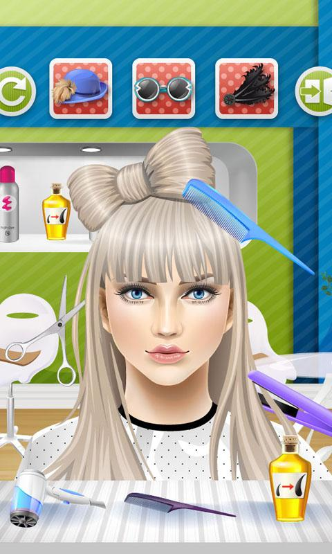 Peachy Kids Hair Salon Kids Games Android Apps On Google Play Hairstyle Inspiration Daily Dogsangcom