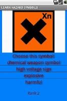 Screenshot of Hazard symbols adv