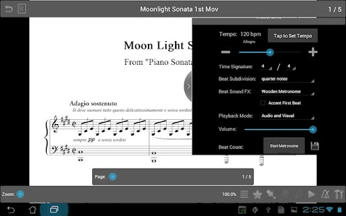 MobileSheets Music Reader - screenshot thumbnail