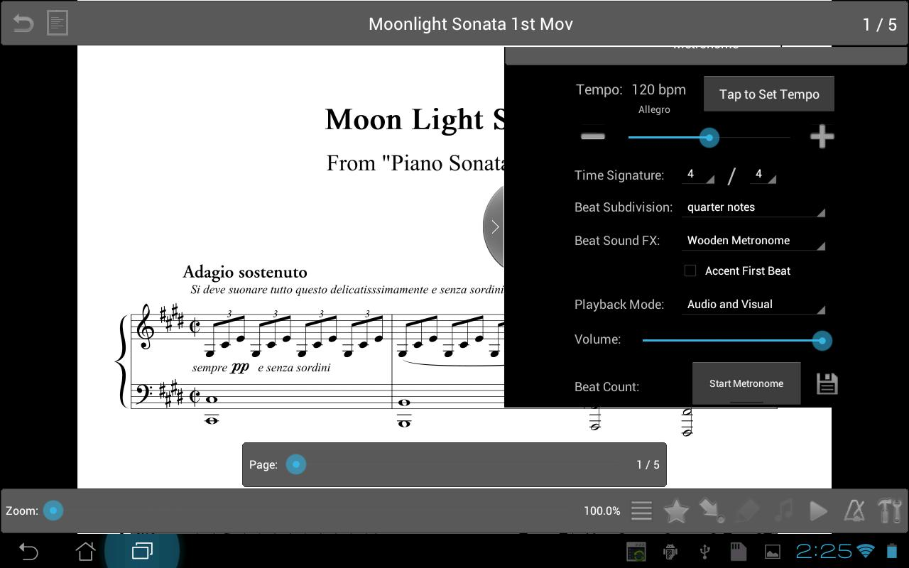 MobileSheets Music Reader - screenshot