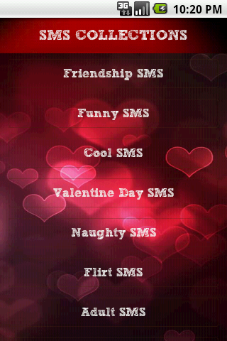 Love sms messages 2016 android download.