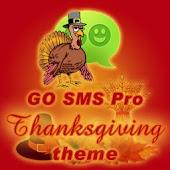 GO SMS Pro Thanksgiving theme