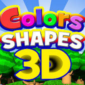 Colors&Shapes 3D For Kids