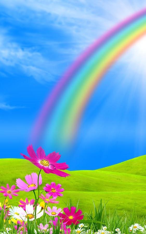 Rainbow Live Wallpaper Screenshot