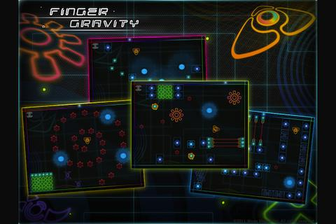 Finger Gravity HD - screenshot