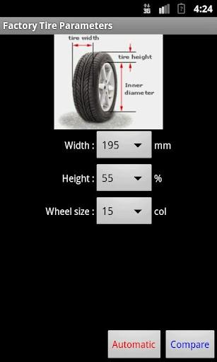 Tire Comparator