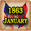1863 Jan Am Civil War Gazette logo
