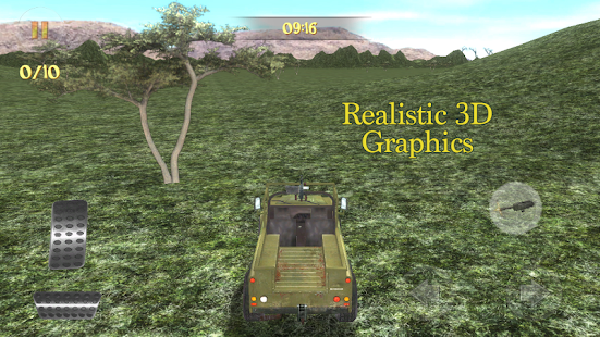 4x4 Safari Race : Poacher Hunt- screenshot thumbnail