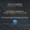 Texty Today Zooper Widget icon