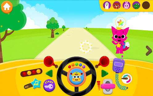 PINKFONG Car Town Screenshot