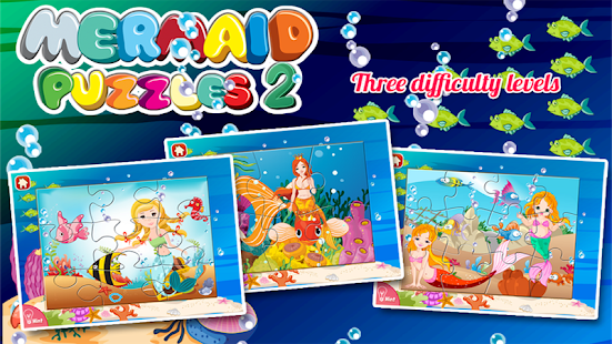 Mermaid Princess Puzzles - screenshot thumbnail