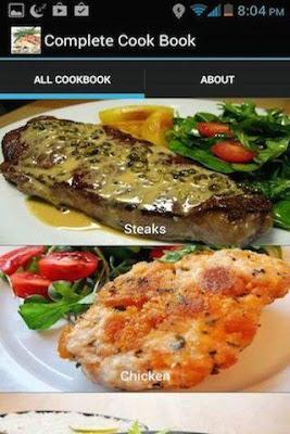 Complete Cook Book - screenshot