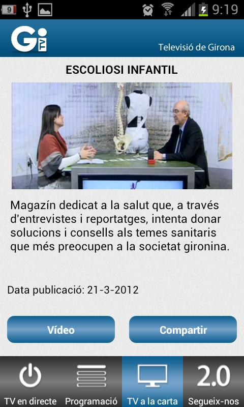 TV Girona - screenshot