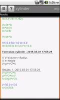 Screenshot of Smart Formulae