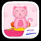 Pinky Kitty Theme- ZERO icon