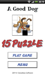A Good Dog - 15 Puzzle- screenshot thumbnail