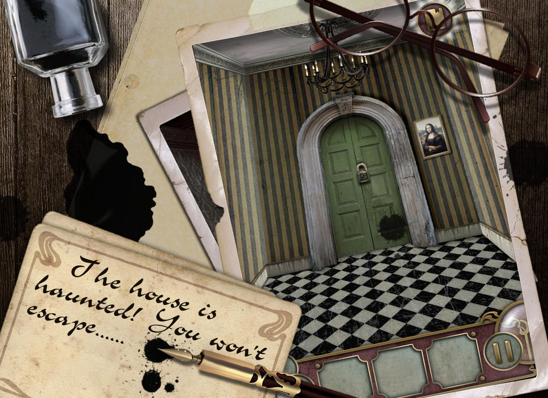 Screenshots of Escape the Mansion for iPhone