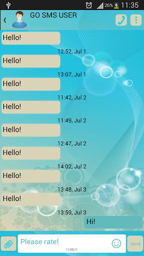 GO短信加强版光波