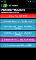 Screenshot of SafeTrip NJ