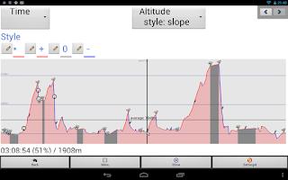 Screenshot of Tracky GPS Navigation+ Compass
